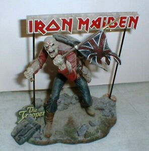 2002 Iron Maiden Eddie The Trooper 6 in Rock Music Action Figure McFarlane Toys