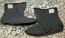 NEW BELLEVILLE QUILTED BOOT LINER (BOOTIE), SIZE 5 W/XW