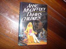 Damia's Children Anne McCaffrey Signed 1st