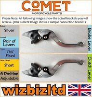 Ducati 749 S 2002-2007 [non-Pliant Court Argent] [ Comet Réglable Course Levier]
