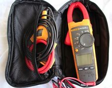 Fluke 376 - True RMS Clamp Meter With Case iFlex Leads & FREE SHIPPING!!!