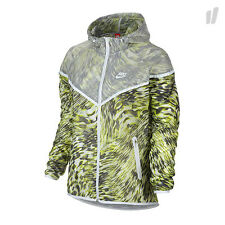 Nike sz S Women's TECH HYPERFUSE Windrunner Jacket NEW $180 645017 702 Volt