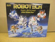 ROBOTECH Super Deformed Veritechs Battloid Gift Set Clear Edition - NEW Unopened
