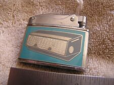 Vintage Wellington Balboa Advertising Lighter Mission Auto Refrigeration