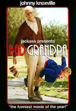 Jackass Presents: Bad Grandpa (DVD, 2014) Disc Only-Free Shipping