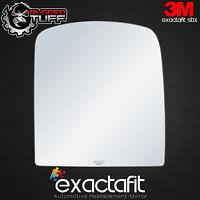 Passenger Side Mirror Glass Fits Chevy Silverado 1500 2500 3500 HD Adhesive RH