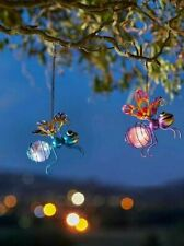 More details for bouncing solar bug light great hanging solar powered bright fun garden decor