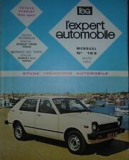Revue technique TOYOTA STARLET 1000 1200 RTA EXPERT 163 1980