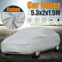 Full Car Cover Breathable Waterproof Snow UV Protection Anti-scratch Outdoor XXL