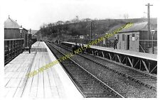 Probus & Ladock Railway Station Photo. Grampound Road - Truro. (2)