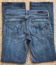 Citizen Of Humanity Jeans Kelly #001 Size 27 X 29 Women's Low Waist Boot Cut