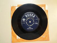"""ROLLING STONES: Come On-I Want To Be Loved-U.K. 7"""" 1963 Decca Record Co. F.11675"""