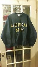 University of Michigan Mom Sweatshirt Adult Large Wolverines U of M Ann Arbor