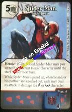 126 SPIDER-MAN Superhéroe 126 Spider-Man-Superhero ESP DICE MASTERS UNCANNY XMEN