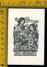 Ex Libris b 042 Leo Arras I Drahos 1968