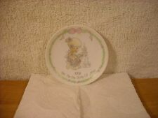 "Precious Moments 1991 Tell Me The Story Of Jesus 4"" Plate"