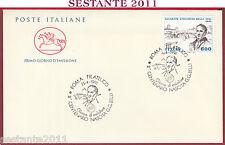 ITALIA FDC CAVALLINO GIUSEPPE GIOACCHINO BELLI 1991 ANNULLO ROMA FILATELICO T902