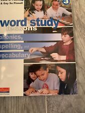 Pinnell & Fountas Grade 3 phonics lessons, letters and words— 490 pages!