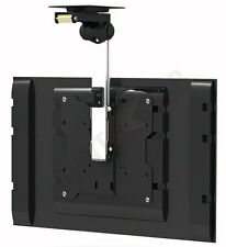 "TV Tilt Swivel Flip Down Folding Ceiling Wall Mount Bracket 17 - 37"" Loft Roof"
