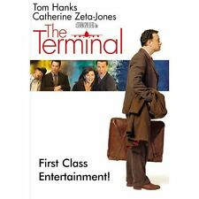 The Terminal (Full Screen Edition), DVD, Tom Hanks, Catherine Zeta-Jones, Chi Mc