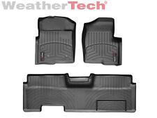 WeatherTech FloorLiner - Ford F-150 - Ext. Cab w/o Flow - 2010-2014 -Black