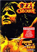 OZZY OSBOURNE speak of the devi live from irvine meadows ´82 DVD NEU OVP/Sealed