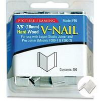 Logan Graphics Framing Hardware Frame Joiner V-Nails 3/8 Inch For Hardwood,