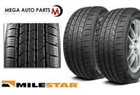 2 Milestar MS932 Sport 225/60R17 99V SL All-Season Traction M+S Performance Tire