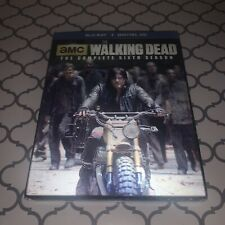 The Walking Dead: The Complete Sixth Season (Blu-ray Disc, 2016, +Slipcover)