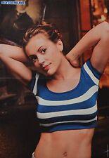 ALYSSA MILANO - A3 Poster (ca. 42 x 28 cm) - Charmed Clippings Fan Sammlung NEU
