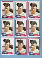 Gaylord Perry 1981 Topps #582 Huge LOT X 17 PACK FRESH New York Yankees