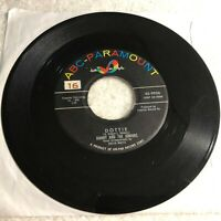 45RPM MY#3886-MIX7 Danny / Juniors Dottie / In The Meantime ABC Paramount 9926