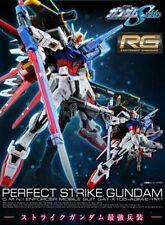 P-BANDAI RG 1/144 Perfect Strike Gundam Plastic Model Kit Real Grade Premium