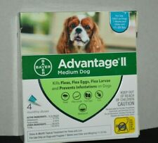 ADVANTAGE 2 FOR MEDIUM ( 4 MONTHS PACK ) NEW AND SEALED 11-20 LBS