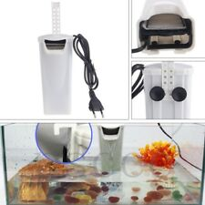 Waterfall Aquarium Turtle Fish Tank Oxygen Pump Built-In Low Water Filter Level