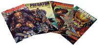 Vintage Predator: Big Game 4-Issue  Dark Horse Comic Book Set- #1-4  UNREAD