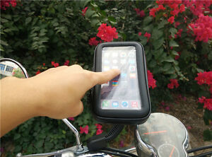 Support GPS Housse etanche support telephone moto support rétroviseur scooter