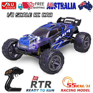 1/8 Scale Remote Control 4WD Off-Road Monster Truck High Speed RC Car RTR