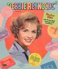 Vintage Uncut 1960 Debbie Reynolds Paper Dolls ~Hd Laser Reproduction~Lo Pr~Hi