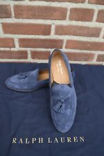 Ralph Lauren Purple Label Men's Chessington Calf Suede Tassel Loafers US 9