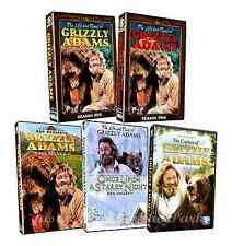 Grizzly Adams Complete TV Series Seasons 1 & 2 + All Movies Box/DVD Set(s) NEW!