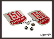 [LG889] HONDA BENLY C95 CA95 SIDE COVER EMBLEM BADGES 1PAIR