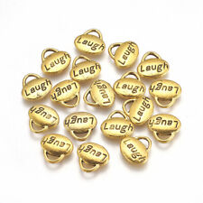 Jewelry DIY Crafts Alloy  Charm Pendants Letter Word Charms 40pcs2016