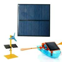 6V 80mm Mini Solar Panel System For DIY Battery Cell Module Phone Charger E1N3