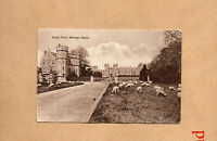 berkshire Windsor Castle south front sepia card unposted with message br1