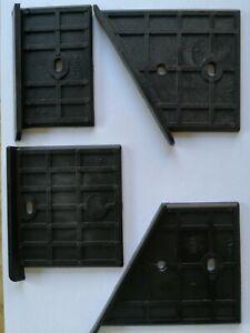 4x Scheppach HL800,WOODSTER LV80 LV65,KITY PV 8000 Gleit-/ Führungsplatte Oben