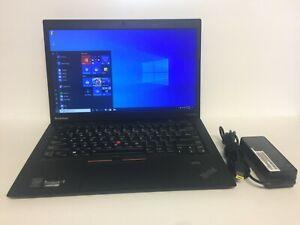 "Lenovo ThinkPad X1 Carbon 1st Gen 14"" Laptop i5-3337U 1.8GHz 180GB SSD 4GB Ram"