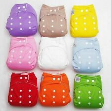Adjustable Reusable Baby Kids Boy Girls Washable Cloth Breathable Diaper Nappies
