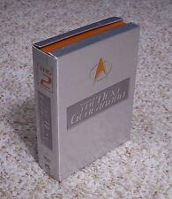 Star Trek: The Next Generation - Complete Season 2 (6-DVD Set, 2002) Second TNG