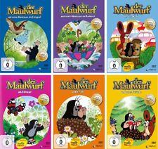 6 DVDs * DER KLEINE MAULWURF - 6 DVDs (EINZELN) IM SET # NEU OVP +